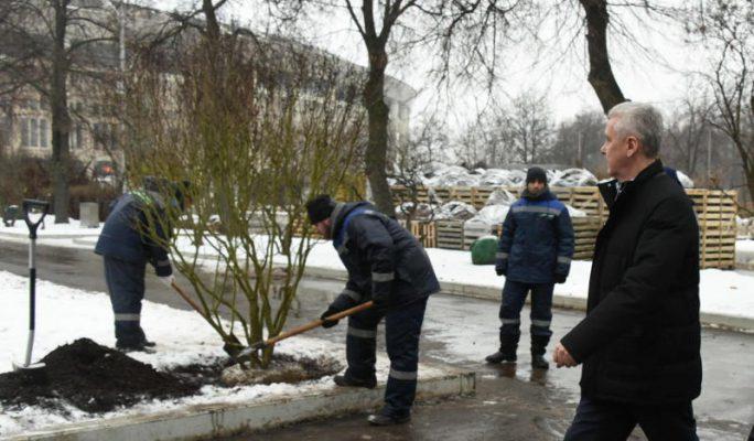 """Собянин: """"Лужники"""" вновь станут самым зеленым """"городом спорта"""""""