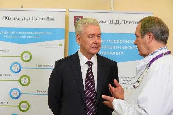 Собянин: Количество высокотехнологичных операций в городских больницах выросло в 38 раз