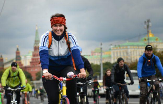 Второй зимний велопарад пройдет в Москве