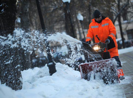 За два месяца в Москве выпало почти полтора метра снега