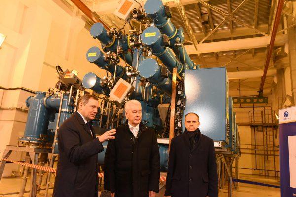 Собянин открыл подстанцию, которая будет снабжать энергией парк «Зарядье»