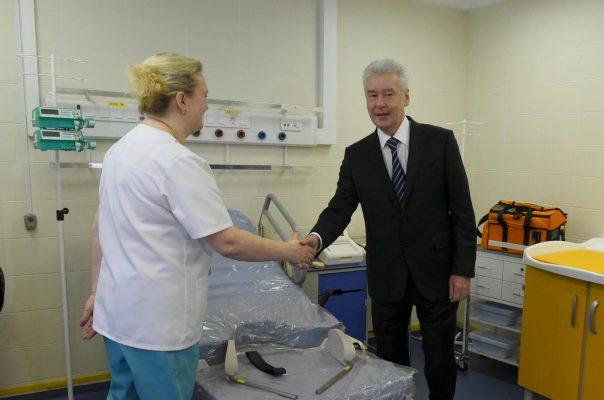 Собянин отметил качественные изменения в системе родовспоможения в Москве