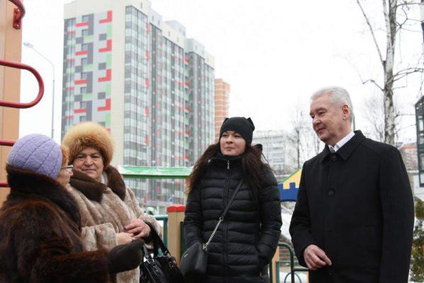 Более 162 тыс москвичей получили новые квартиры по программе сноса пятиэтажек