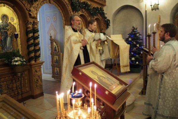 Рождественская ночь: мороз и молитва