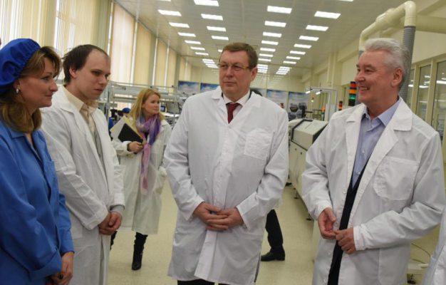 Власти Москвы активно поддерживают промышленный сектор