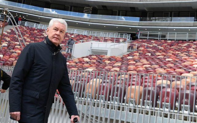 Реконструкция главного стадиона страны практически завершена