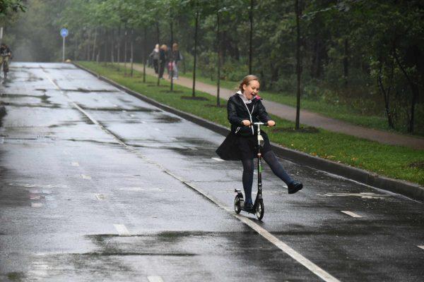 Первые пункты проката открылись после зимы в парках Москвы