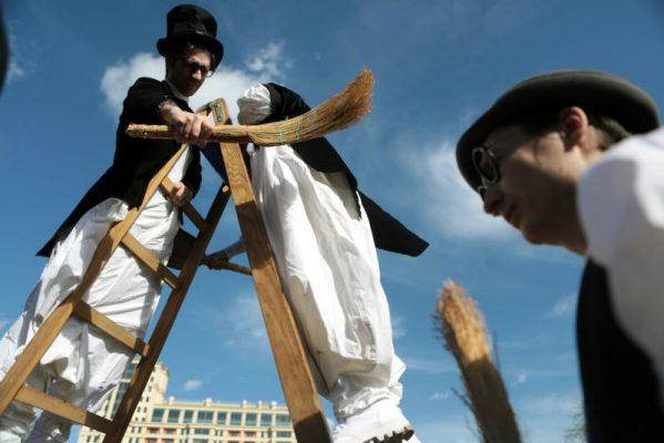 В московских парках продолжается фестиваль «Ворвись в весну»