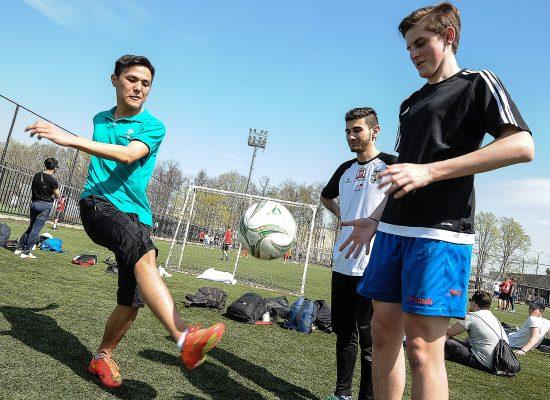 Более 900 человек участвовали в фестивале спорта инвалидов «Воробьевы горы»