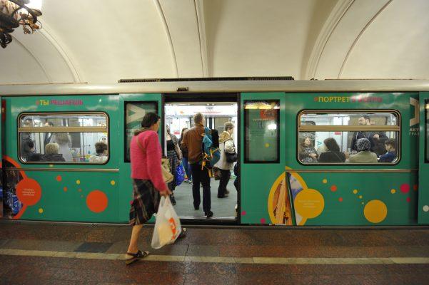 Треть поездов в московском метро оснащена системами климат-контроля
