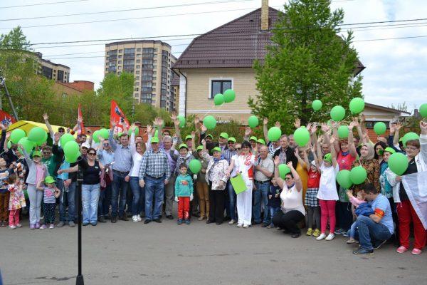 Пожарные и спасатели приняли участие в акции «Аллея Дружбы»