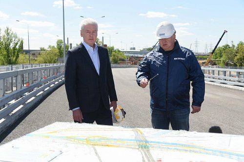 Дорожное строительство на шоссе Энтузиастов близится к завершению – Собянин