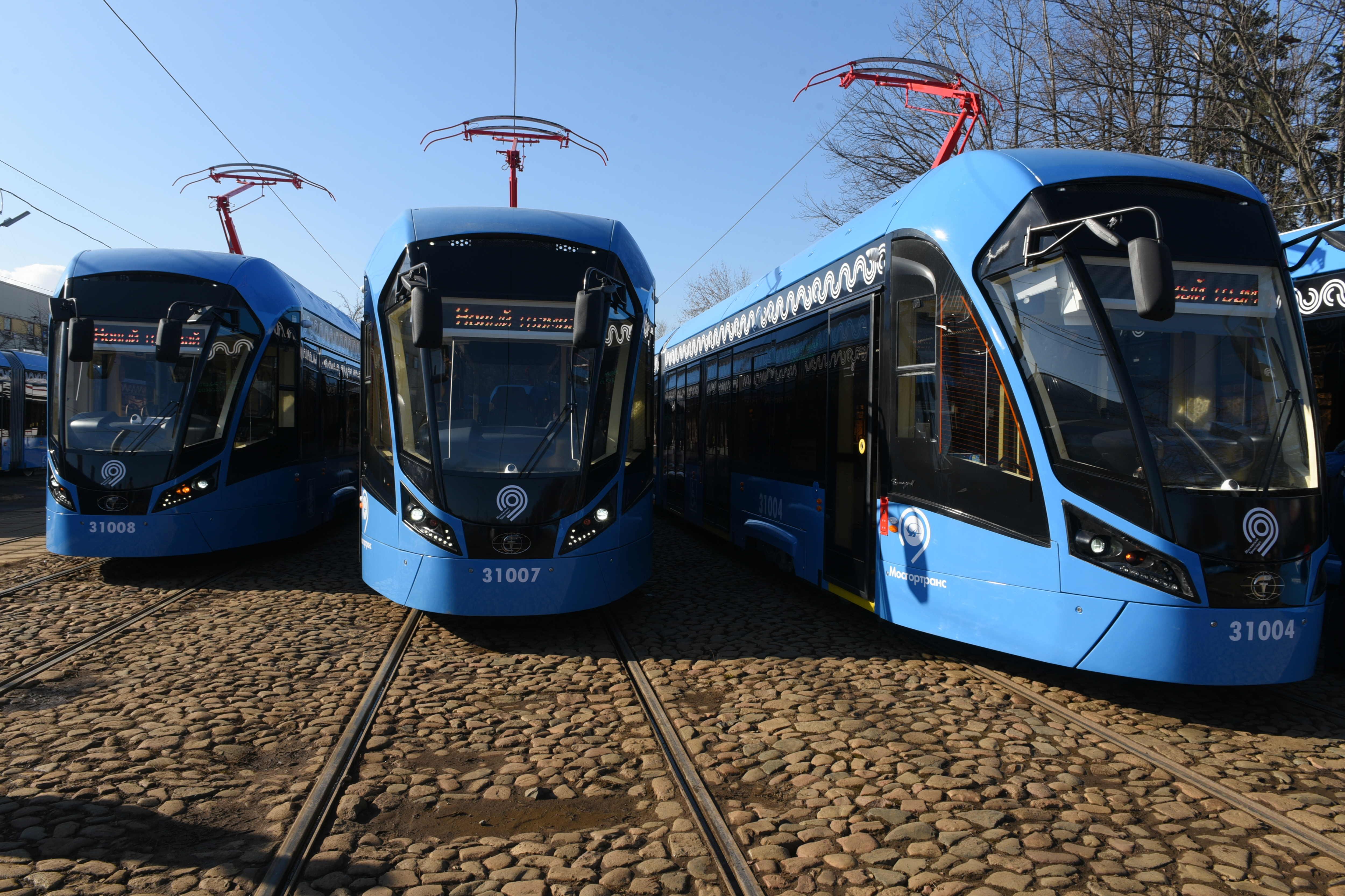 Трамваи нового поколения полностью заменили старые модели на маршруте №17. Фото: архив