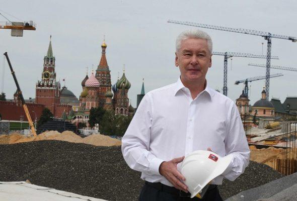 Парк «Зарядье» станет крупнейшей рекреационной зоной в центре Москвы