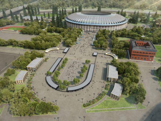 Москомархитектура  утвердила проект станции «Лужники» канатной дороги