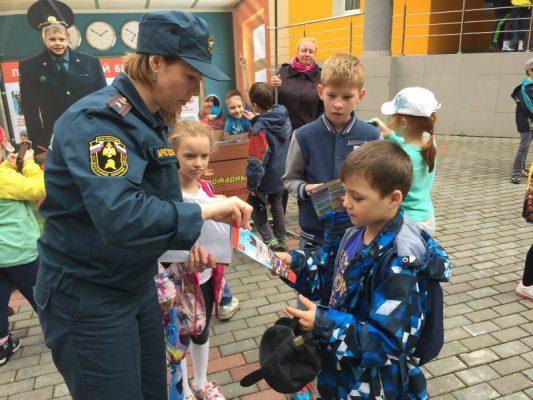 «Московская смена -2017». Дети Лицея города Троицка приняли участие в занятии по безопасности