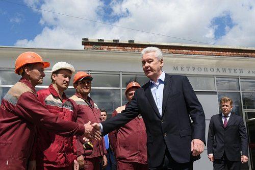 Собянин: После ремонта интервал движения поездов Филевской линии сократится