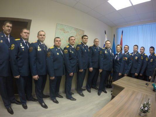 Поздравляем сотрудников Государственного пожарного надзора с юбилейной датой!
