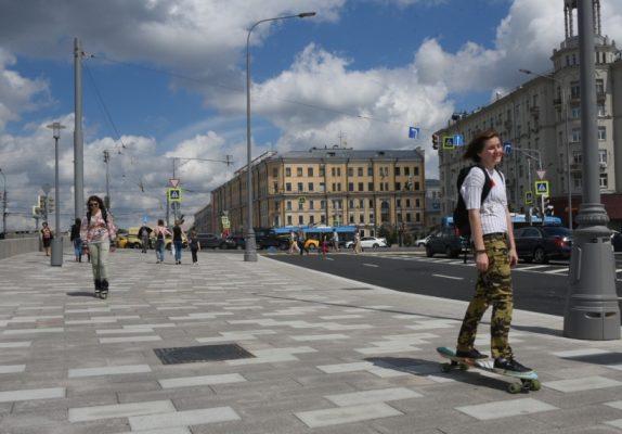 В этом году планируется благоустроить 11 набережных Москвы-реки