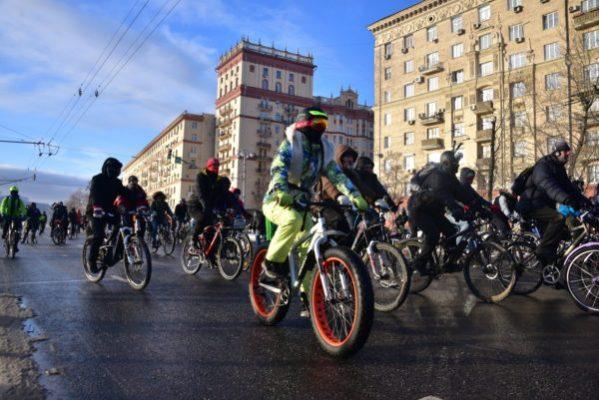 Третий Ночной велопорад пройдет в Москве