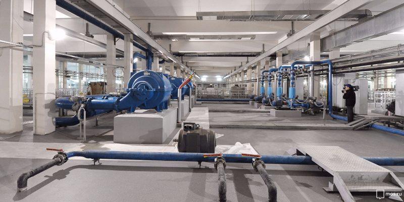 Очередной блок озоносорбции заработает на Рублевской станции водоподготовки