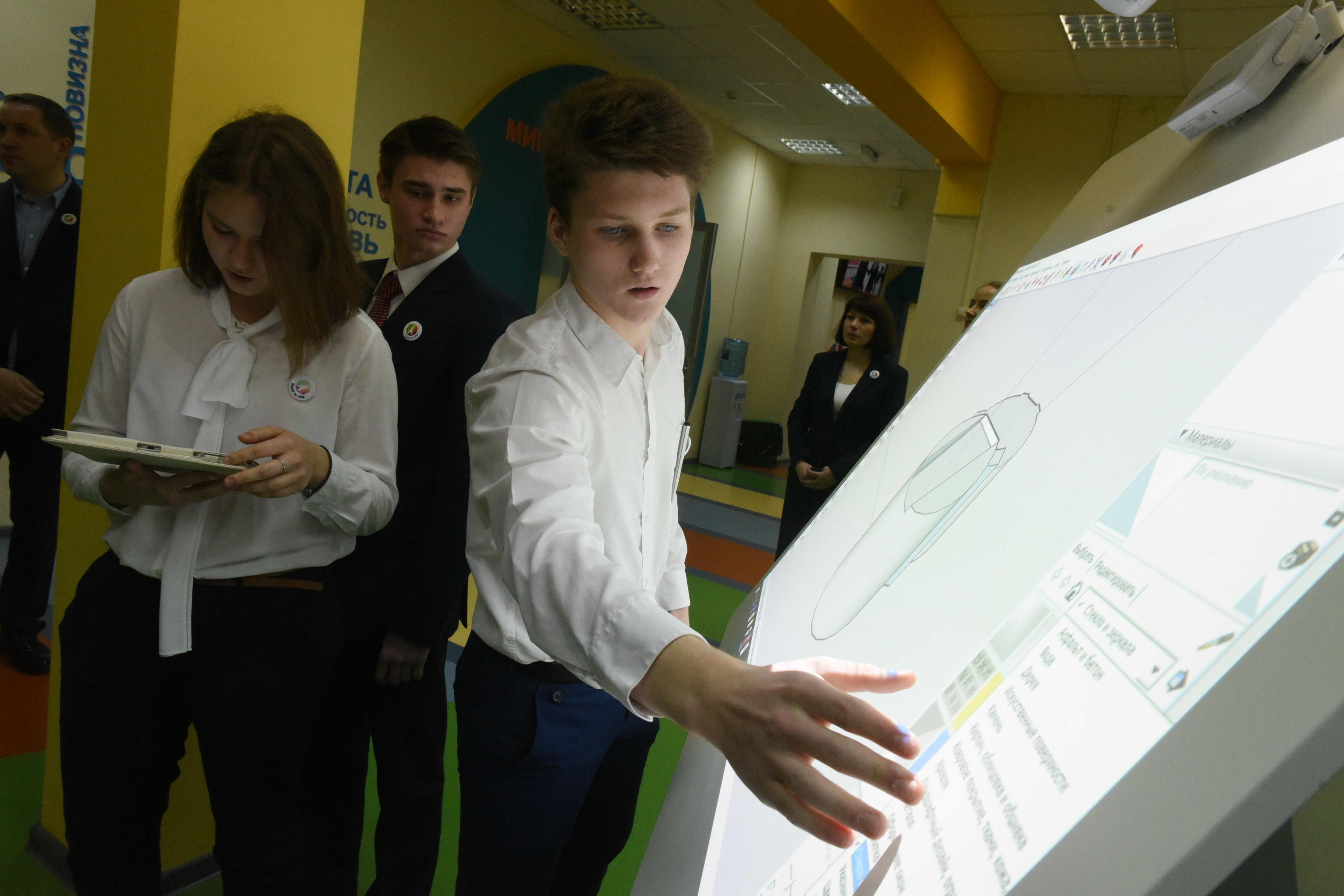 Московские школы готовят профессионалов будущего. Фото: архив