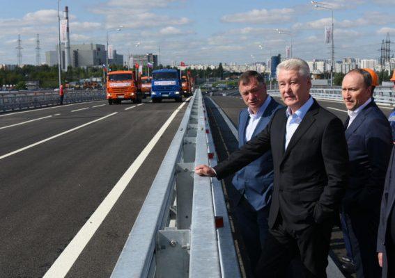 Элеваторную улицу с улицей Подольских Курсантов связали новой эстакадой