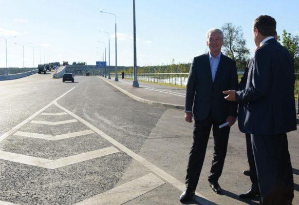 За 5 лет в Новой Москве построено свыше 60 км новых дорог