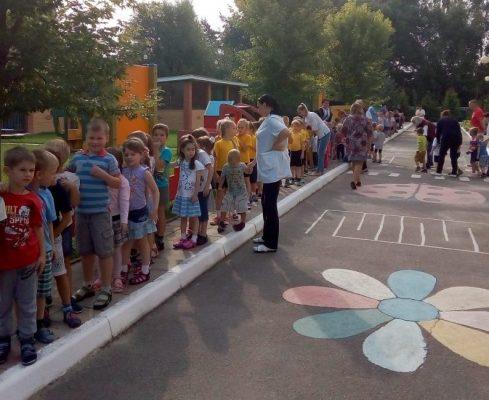 В детском саду «Сказка» прошла учебная эвакуация