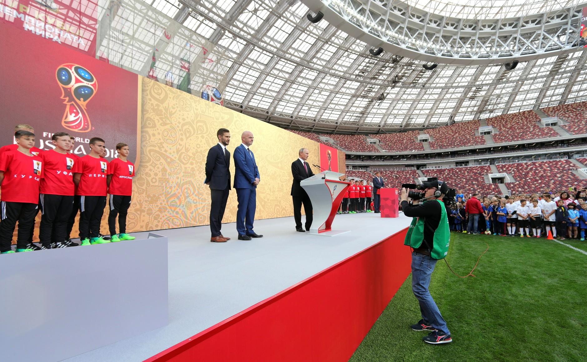 Владимир Путин лично оценил итоги масштабной реконструкции «Лужников». Фото: kremlin.ru