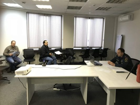 Семинар в области пожарной безопасности с представителями малого бизнеса ТАО
