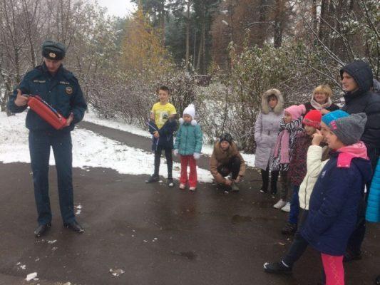 Детская безопасность: МЧС проверили готовность к действиям при пожаре