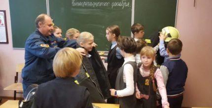 В православной школе Троицка проведен урок безопасности
