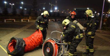 Впервые пожарные ТиНАО провели учения по тушению пожара в метрополитене