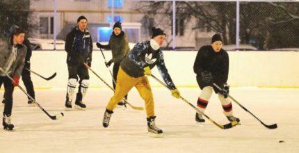 Хоккейное время