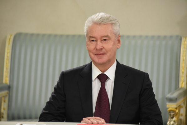 Собянин открыл новую эстакаду в ТиНАО