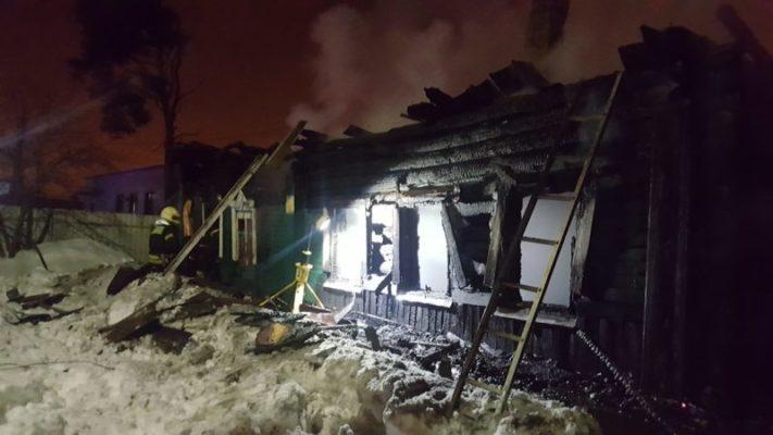 Два крупных пожара ликвидировали в ТиНАО