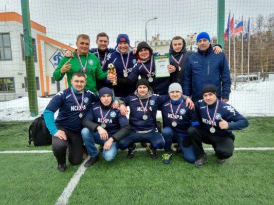Пожарные новой Москвы стали призерами в соревнованиях по мини-футболу, завоевав бронзу