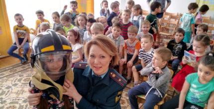 В Год культуры безопасности: воспитанники «Успеха» повторили правила пожарной безопасности