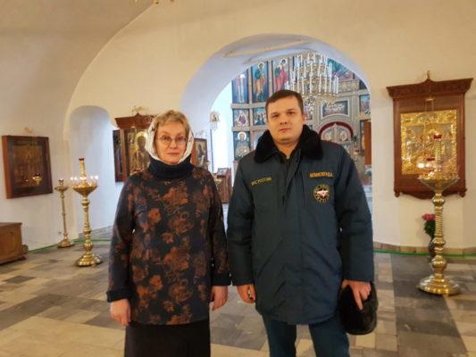 Накануне православного праздника Светлой Пасхи проведены противопожарные инструктажи