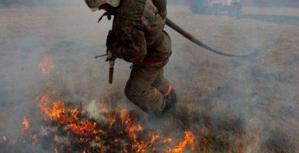 Сотрудники МЧС напоминают: В Москве запрещены палы травы!
