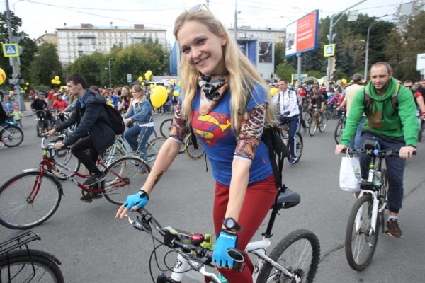 Городской спортивный праздник «Московский велопарад» организуют в столице