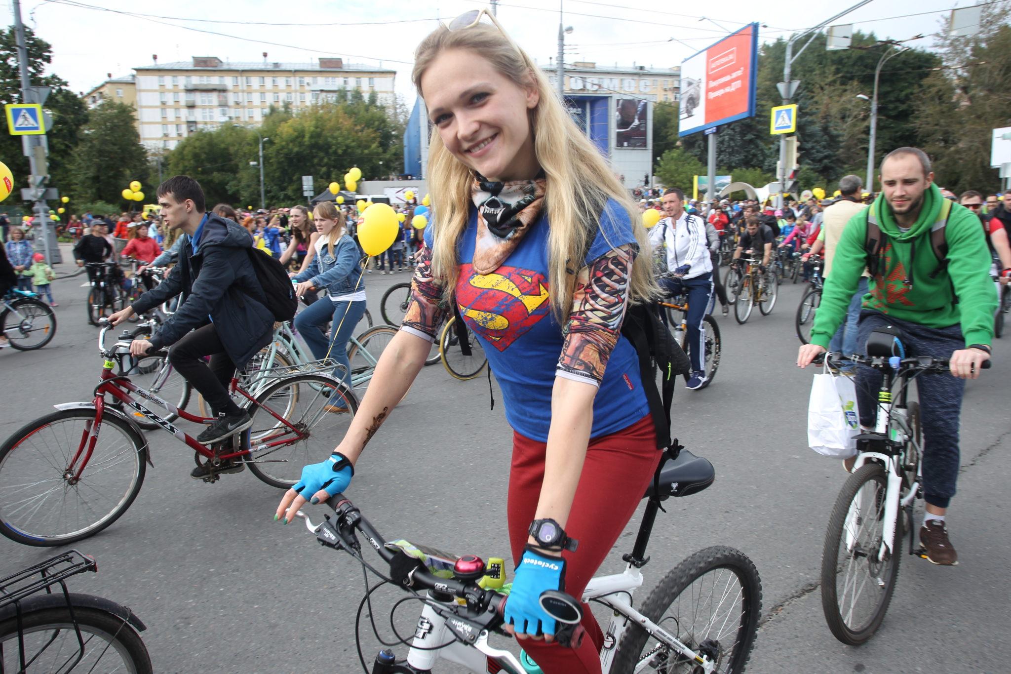 Общегородское мероприятие «Московский велопарад» организуют в столице. Фото: архив