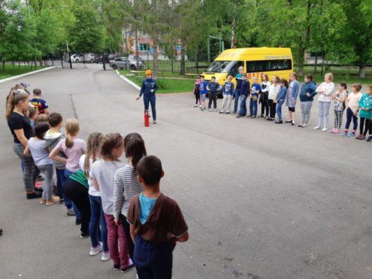 Год культуры безопасности: в летнем лагере «Московской смены 2018» проведены профилактические мероприятия