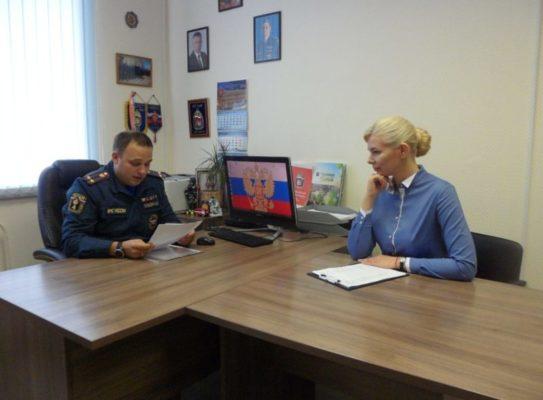 Руководитель надзорного органа рассказал о превентивных мерах пожарной безопасности на территории ТАО Москвы