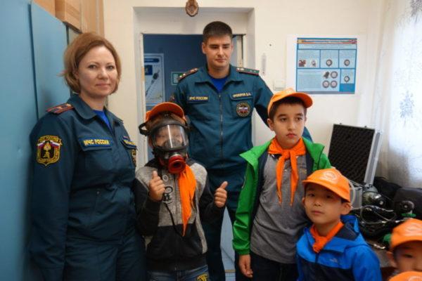 «Московская смена-2018»: самые лучшие впечатления от экскурсии в пожарно-спасательную часть!