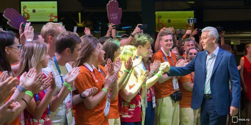 Волонтёры чемпионата