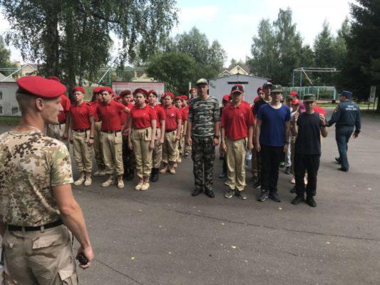 С юнармейцами оздоровительного лагеря «Мечта» проведены проф. мероприятия по безопасности