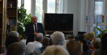 Встреча главы с жителями Троицка