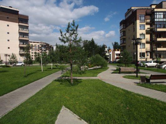 Город зелёный и не очень